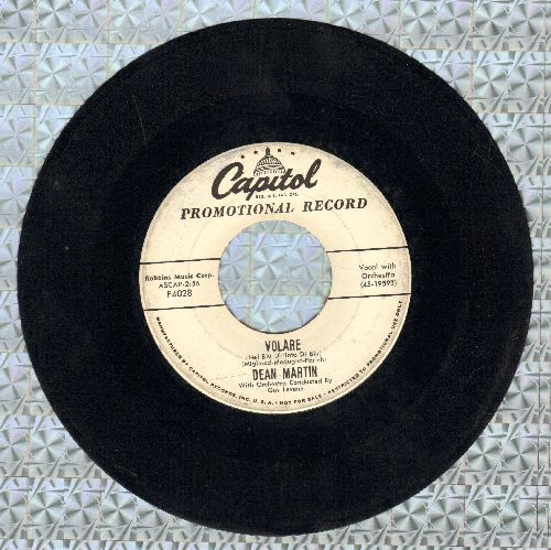 Martin, Dean - Volare/Outta My Mind (DJ advance pressing) - VG7/ - 45 rpm Records