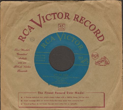 Martin, Tony - Bye Bye Baby (from -Gentlemen Prefer Blondes-)/Marta (with vintage RCA company sleeve) - EX8/ - 45 rpm Records
