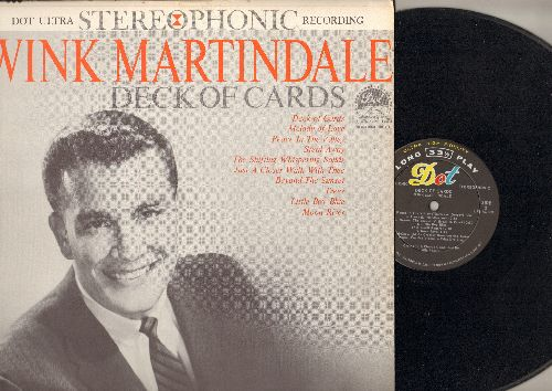 Martindale, Wink - Deck Of Cards: Beyond The Sunset, Moon River, Little Boy Blue, Peace In The Valley, Melody Of Love, Just A Closer Walk With Thee (vinyl STEREO LP record) - NM9/NM9 - LP Records