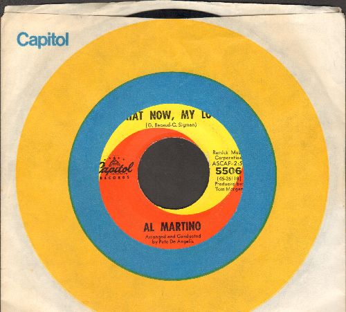 Martino, Al - What Now, My Love/Forgive Me (with Capitol company sleeve) - EX8/ - 45 rpm Records