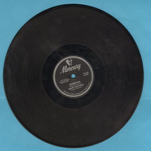 Marterie, Ralph & His Orchestra - Skokiaan/Crazy 'Bout Lollipop (10 inch 78 rpm record) - EX8/ - 78 rpm