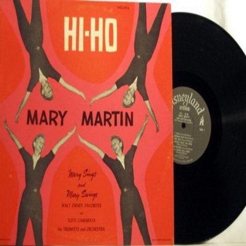 Martin, Mary - Hi Ho: Lavender Blue, Whistle While You Work, Some Day My Prince Will Come (Vinyl STEREO LP record) - M10/EX8 - LP Records