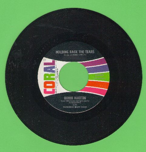 Martin, Bobbi - Holding Back The Tears/I Don't Want To Live (Without Your Love) - EX8/ - 45 rpm Records
