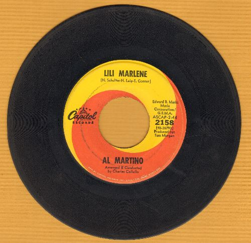 Martino, Al - Lili Marlene (My Lili Of The Lamplight)/Georgia  - VG7/ - 45 rpm Records
