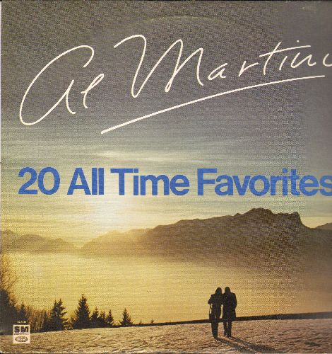Martino, Al - 20 All Time Favorites: Spanish Eyes, After The Lovin', Jealous Heart, Somewhere My Love, Release Me, True Love (Vinyl STEREO LP record, 1980 pressing) - NM9/EX8 - LP Records