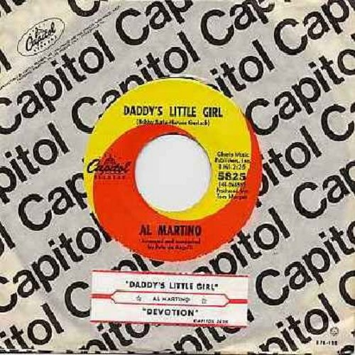 Martino, Al - Daddy's Little Girl (FAVORITE for Wedding Reception Father/Daughter Dance!)/Devotion (with Capitol company sleeve and juke box label) - NM9/ - 45 rpm Records