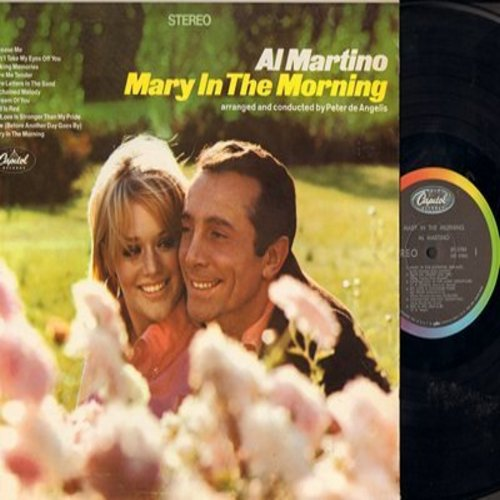 Martino, Al - Mary In The Morning: Release Me, Can't Take My Eyes Off You, Love Me Tender, Unchained Melody (Vinyl STEREO LP record) - NM9/EX8 - LP Records