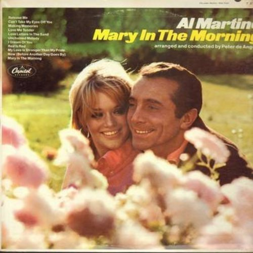 Martino, Al - Mary In The Morning: Release Me, Can't Take My Eyes Off You, Love Me Tender, Unchained Melody (Vinyl MONO LP record) - M10/EX8 - LP Records