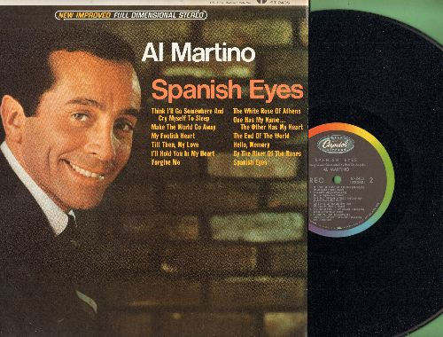 Martino, Al - Spanish Eyes: By The Rivers Of The Roses, The End Of The World, The White Rose Of Athens, Make The World Go Away (Vinyl STEREO LP record) - NM9/NM9 - LP Records
