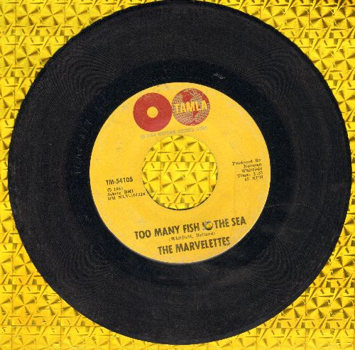 Marvelettes - The Hunter Gets Captured By The Game/I Think I Can Change You (bb) - VG7/ - 45 rpm Records