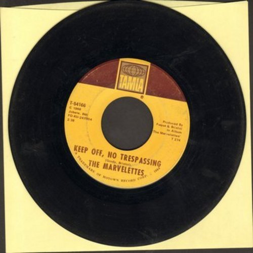 Marvelettes - Keep Off, No Trespassing/Here I Am Baby - VG7/ - 45 rpm Records
