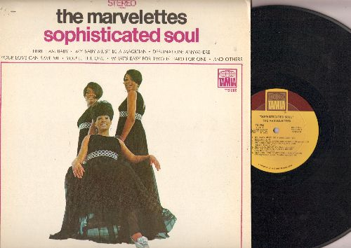 Marvelettes - Sophisticated Soul: My Baby Must Be A Magician, Here I Am Baby, You're Thye One, What's Easy For Two Is Hard For One (Vinyl STEREO LP record) - NM9/EX8 - LP Records