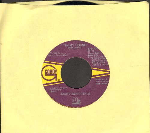 Mary Jane Girls - In My House/In My House (Instrumental) - EX8/ - 45 rpm Records