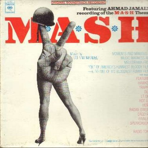M*A*S*H - M*A*S*H - Original Motion Picture Sound Track featuring Ahmad Jamal's Theme Song -Suicide Is Painless- (Vinyl MONO LP record) - NM9/EX8 - LP Records