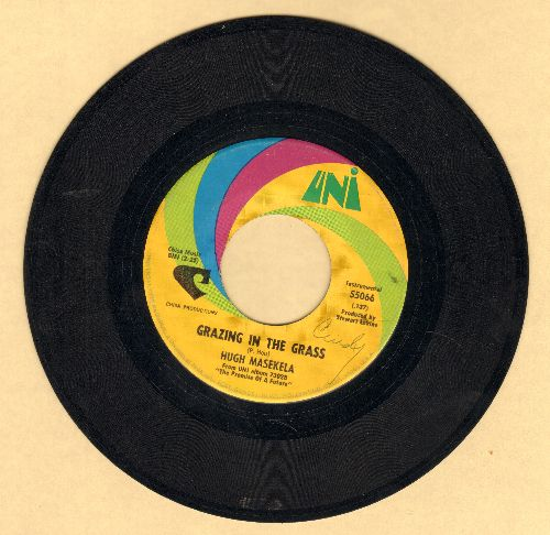 Masekela, Hugh - Grazing In The Grass/Bajabula Bonke - VG7/ - 45 rpm Records