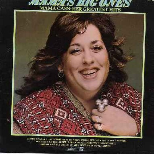 Mama Cass - Mama's Big Ones: Words Of Love, It's Getting Better, Make Your Own Kind Of Music, Dream A Little Dream Of Me, Easy Come Easy Go (Vinyl STEREO LP record) - NM9/VG7 - LP Records