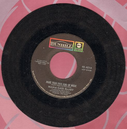 Mama Cass - Make Your Own Kind Of Music (featured in film -A Beautiful Thing-)/Lady Love - VG7/ - 45 rpm Records