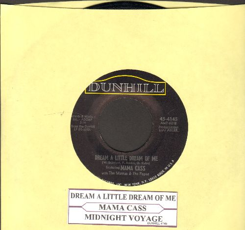 Mama Cass - Dream A Little Dream Of Me/Midnight Voyage (with juke box label) - EX8/ - 45 rpm Records