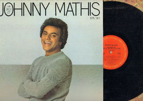 Mathis, Johnny - The Best Of 1975-1980: Too Much Too Little Too Late (duet with Deniece Williams), 99 Miles From L.A., Just The Way You Are (duet with Deniece Williams) (vnyl STEREO LP record) - NM9/NM9 - LP Records