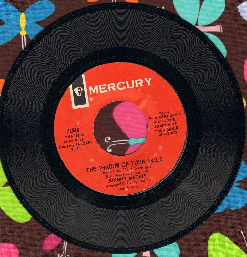 Mathis, Johnny - The Shadow Of Your Smile/The Sweetheart Tree - NM9/ - 45 rpm Records