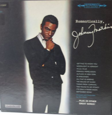 Mathis, Johnny - Romantically, Johnny Mathis: Friendly Persuasion, Hi Lili Hi Lo, September Song (3 vinyl STEREO LP record Box Set) - NM9/EX8 - LP Records