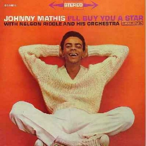 Mathis, Johnny - I'll Buy You A Star: When My Sugar Walks Down The Street, Smile, The Best Is Yet To Come (Vinyl STEREO LP record) - M10/EX8 - LP Records