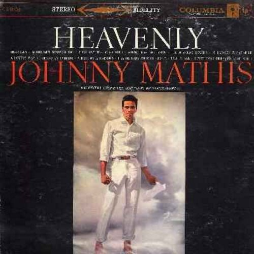 Mathis, Johnny - Heavenly: Moonlight Becomes You, They Say It's Wonderful, Hello Young Lovers, Stranger In Paradise, Misty, That's All (Vinyl LP record) - NM9/VG7 - LP Records