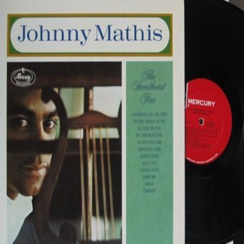 Mathis, Johnny - The Sweetheart Tree: The Very Thought Of You, Arrivederci Roma, This Is Love, Danny Boy, Mirage, Symphony (Vinyl STEREO LP record) - NM9/NM9 - LP Records