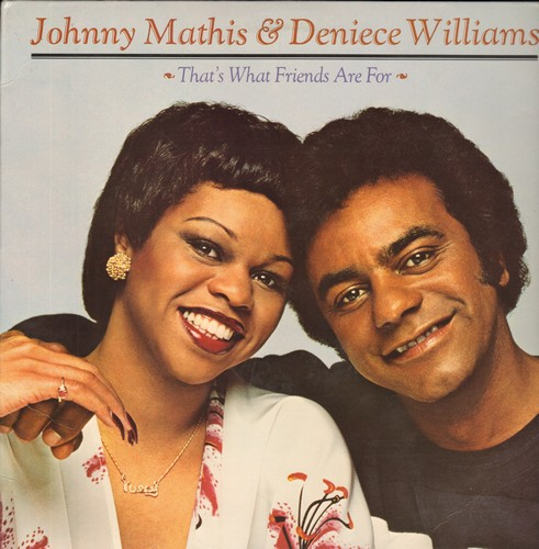 Mathis, Johnny & Deniece Williams - That's What Friends Are For: You're All I Need To Get By, Ready Or Not,Just The Way You Are (Vinyl STEREO LP record) - NM9/EX8 - LP Records