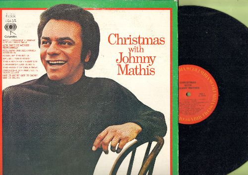 Mathis, Johnny - Christmas With Johnny Mathis: Have Yourself A Merry Little Christmas, Rudolph The Red-Nosed Reindeer, Carol Of The Bells, A Marshmallow World (Vinyl STEREO  LP record) - NM9/NM9 - LP Records