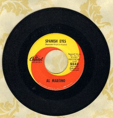 Martino, Al - Spanish Eyes/Melody Of Love  - NM9/ - 45 rpm Records