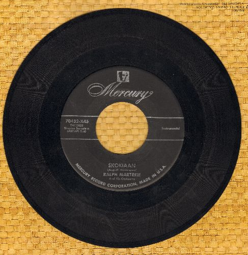Marterie, Ralph & His Orchestra - Skokiaan/Crazy 'Bout Lollipop (sol) - VG7/ - 45 rpm Records