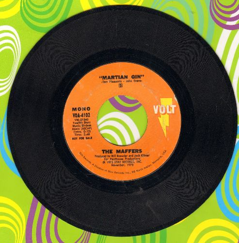 Maffers - Martian Gin (STEREO and MONO version) - EX8/ - 45 rpm Records