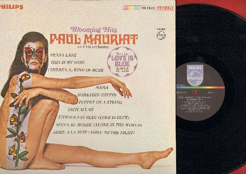 Mauriat, Paul & His Orchestra - Blooming Hits: Love Is Blue, Penny Lane, This Is My Song, Somethin' Stupid, Puppet On A String (Vinyl STEREO LP record) - NM9/EX8 - LP Records