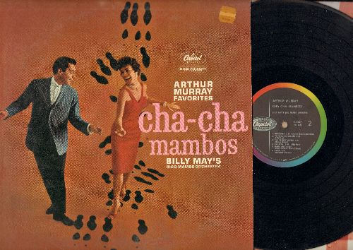 May, Billy & The Rico Mambo Orchestra - Cha-Cha Mambos: Frenesi, Ain't She Sweet, The Cha Cha Cha, Undecided, Peanut Vendor, Mama Ines (Vinyl MONO LP record) - EX8/VG7 - LP Records