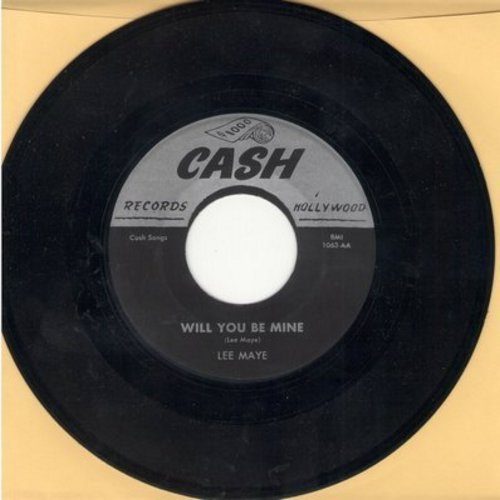 Maye, Lee - Will You Be Mine/Honey Honey (authentic-looking re-issue) - NM9/ - 45 rpm Records