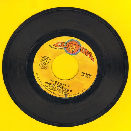 Mayfield, Curtis - Superfly/Love To Keep You In My Mind - VG7/ - 45 rpm Records