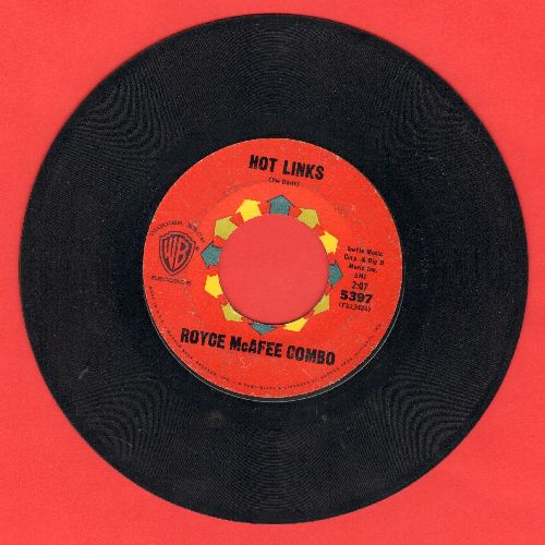 McAfee, Royce Combo - Hot Links/Once There Was Love - EX8/ - 45 rpm Records