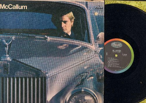 McCallum, David - McCallum: 98.6, I'm A Believer, Mellow Yellow, Penny Lane, California Dreamin', 59th St. Bridge Song (Vinyl MONO LP record) - EX8/VG7 - LP Records