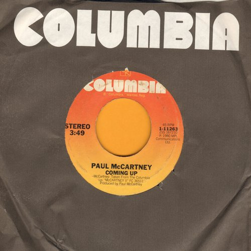 McCartney, Paul - Coming Up/Coming Up - Live From Glasgow - Lunch Box-Odd Soc  - EX8/ - 45 rpm Records
