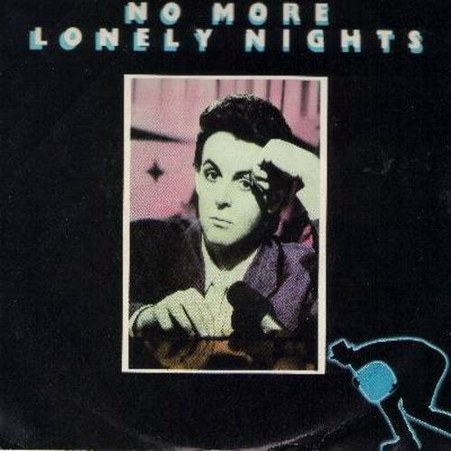 McCartney, Paul - No More Lonely Nights (ballad & playout version, with picture sleeve) - NM9/EX8 - 45 rpm Records