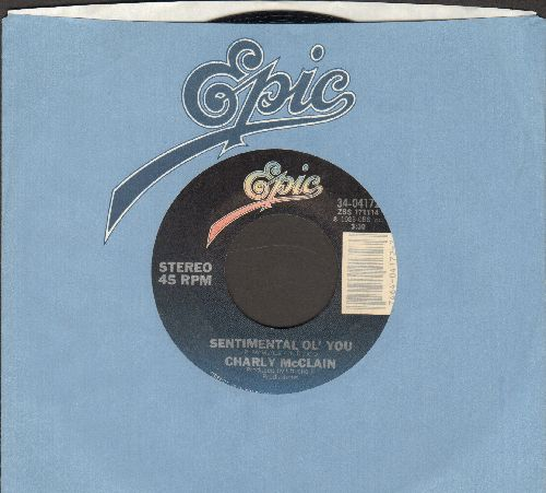 McClain, Charly - Sentimental Ol' You/I'll Get You Back (with Epic company sleeve) - EX8/ - 45 rpm Records