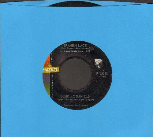 McDaniels, Gene - Spanish Lace/Somebody's Waiting - EX8/ - 45 rpm Records