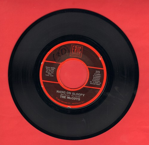 McCoys - Hang On Sloopy/Fever (double-hit re-issue with juke box label) - EX8/ - 45 rpm Records