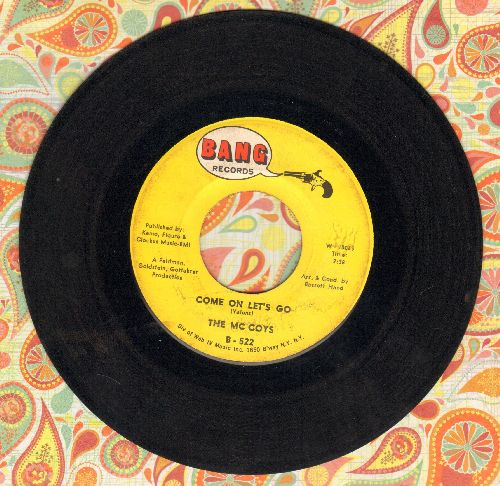 McCoys - Come On Let's Go/Little People  - VG7/ - 45 rpm Records