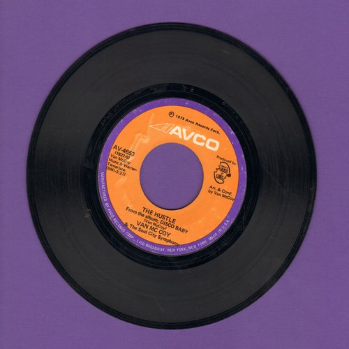 McCoy, Van - The Hustle/Hey Girl Come And Get It  - EX8/ - 45 rpm Records