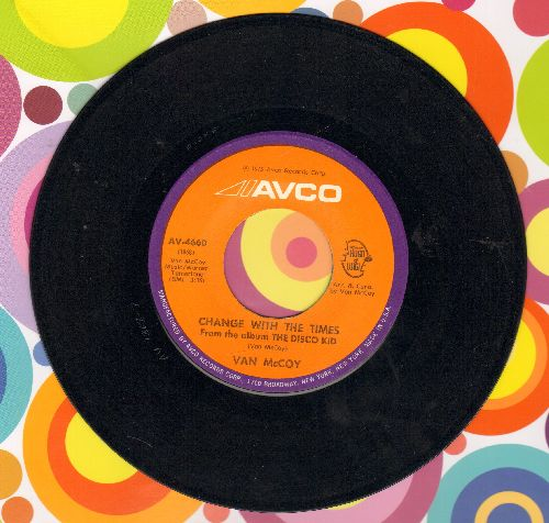 McCoy, Van - Change With The Times/God Night, Baby  - EX8/ - 45 rpm Records