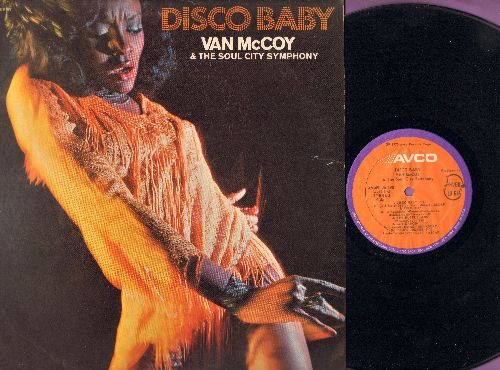 McCoy, Van - Disco Baby: The Hustle, Turn This Mother Out, Fire, Get Dancin', Doctor's Orders (Vinyl STEREO LP record) - EX8/VG7 - LP Records
