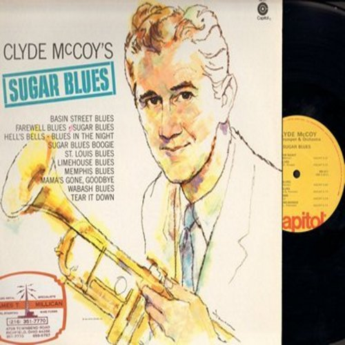 McCoy, Clyde - Sugar Blues: Basin Street Blues, Blues In The Night, St. Louis Blues, Wabash Blues (Vinyl STEREO LP record) - M10/NM9 - LP Records