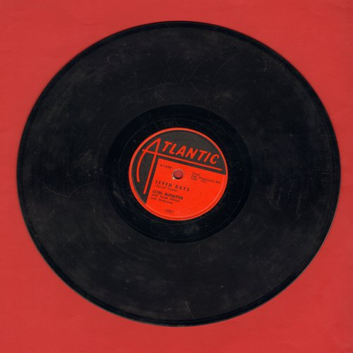 McPhatter, Clyde - Seven Days/I'm Not Worthy Of You (RARE 10 inch 78 rpm record) - VG7/ - 78 rpm